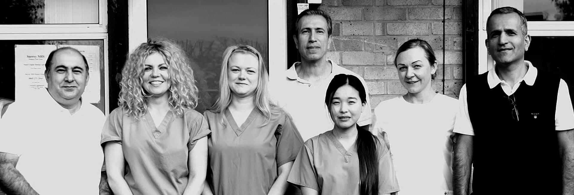 Stanwell Dental team photo